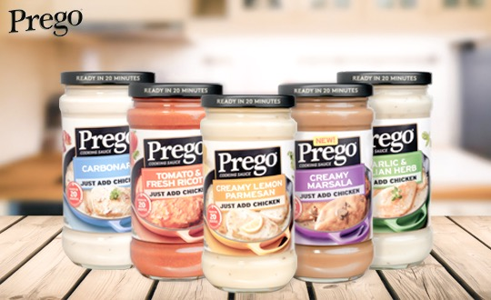 Prego Cooking Sauces
